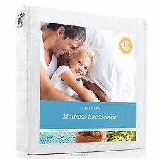 Bed Bug Matress Protector Encasement Hypoallergenic Waterproof Cover Bedbug Pad