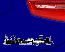Gelsenkirchen Skyline Aufkleber Sticker Autoaufkleber City Gedruckt