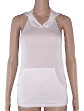 armani maglia donna cappuccio bianco ottico stretch taglia it 38 42