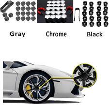 20x Car Hub Screw Cover Wheel Nut Caps Bolt Rims fit 17mm wheel bolts or nuts