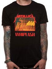 Official METALLICA - WHIPLASH - NEW - unisex rare black T Shirt band music cool