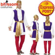 CA172 Arabian Prince Shiek Aladdin Desert Sultan Arab Night Fancy Dress Costume