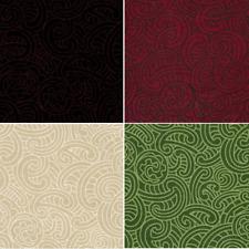 Kiwiana Ponga Koru Abstract Fern 100% Patchwork Cotton Fabric (Nutex)