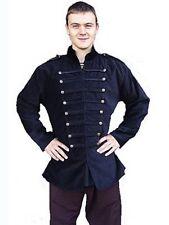 Chaqueta abrigo Gothic la edad media uniforme chaqueta alexio S-XXXL negro