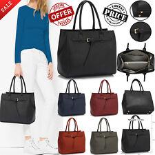 Designer Handbag Womens Ladies Beautiful Stylish Faux Leather Tote Shoulder Bags