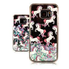 Crystal CASE PER Samsung GLITTER COVER Bling Strass Custodia Protettiva Motivo Unicorno