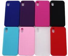 Cellulare Custodia in Silicone per Apple iPhone X disponibile in 8 COLORI