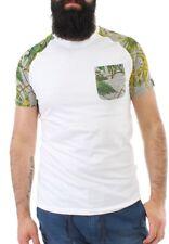 Shine Camiseta de los hombres 2-40284 Gris Mezcla