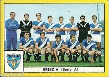 FIGURINE CALCIATORI EDIS 1969 / 70 * BRESCIA * SQUADRA -  NUOVA