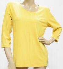 Shirt 3/4 Arm, Viskose, honig