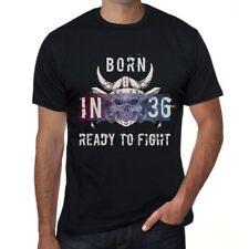 36 Ready to Fight Homme T-shirt Noir Cadeau D'anniversaire