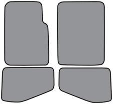 2004-2006 Jeep Wrangler Unlimited Cutpile Carpet Logo Floor Mat 4pc