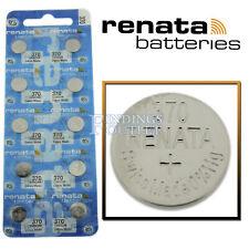 Made 0% Mercury Official Distributor 370 Renata Watch Battery Sr920W Swiss