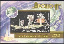 HONGRIE 1969 Apollo 11/SPACE/Lune/Fusées/transport 1 V M/S (n34690)