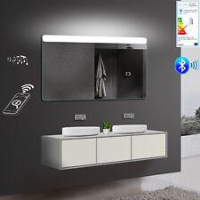 Badezimmerspiegel Wandspiegel LED 3000/6400K Bluetooth-Lautsprecher 50-140cm SMY