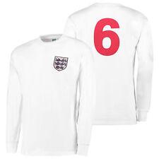 Inglaterra 1966 World Cup Final Casa No6 Retro Fútbol Camiseta Hombre Deporte