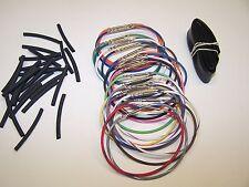 "Harley 8"" wiring extension handlebar 24 wire 96-06 switch kit RADIO CRUISE CB"