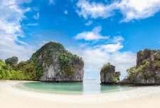 PHUKET THAILAND SKYLINE GLOSSY POSTER PICTURE PHOTO PRINT island beach view 3729