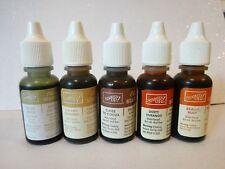 Stampin Up RETIRED Ink Refill bottles FULL Re-inker