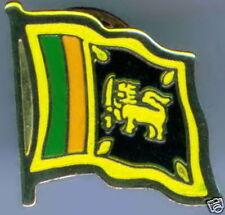 Sri Lanka Flag Lapel / Hat Pin NEW