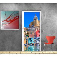 Affiche poster format porte déco Grèce 528 Art déco Stickers