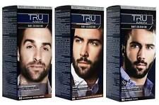 3x TRU MEN Bart-Coloration Farben Professional (3´er Pack)