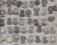 Vintage COAT OF ARMS NETHERLANDS brooch pin badges 1960s City Logo