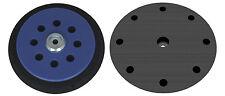 """Backing pad 6"""" Ø 150mm for Makita BO6030 BO6040 - 8+1 holes Hook and Loop - DFS"""
