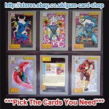 DC COSMIC cartes - Impel 1992 ( VG 1 TO 99 VEUILLEZ Choisissez cartes