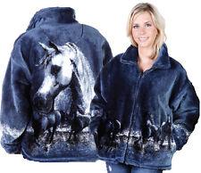 Majestic Horses Ultra Plush Fleece Arabian Horse Jacket  XS - 2X