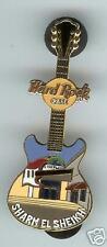 Hard Rock Cafe SHARM EL SHEIKH Facade Series Guitar Pin