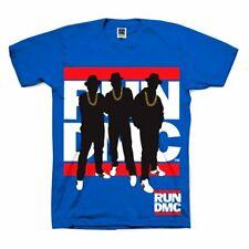 Run DMC 'Silueta' T-Shirt-Nuevo Y Oficial!