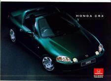 HONDA CRX  SALES BROCHURE 1996