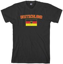 Threadrock Men's Deutschland Flag T-shirt Germany Team