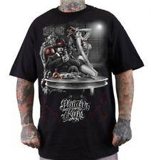 Dyse One Capo Mens Black T-Shirt Urban Streetwear Tattoo Gangster Mob Tattoo Art