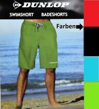 Herren Dunlop Badehose Badeshort Shorts Schwimmhose Bermudashort Watershort