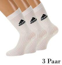 adidas 3 Paar Sportsocken Unisex Socken  Weiß T Corp Crew Sneakersocken Sport