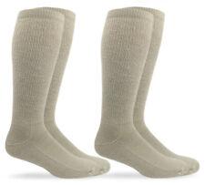 Jefferies Socks Mens Military Cushion Wool Combat Tall Boot Crew Socks 2 Pack