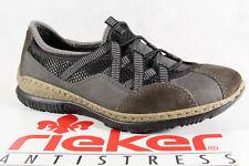 Rieker Slipper Sneakers Halbschuhe Sportschuhe Ballerina grau N3251 Memosoft NEU