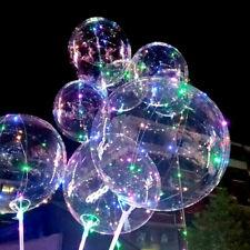 "18"" Colorful String Light Helium Balloon LED Christmas Home Garden Party Decor"