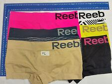 4 X Womens Reebok Sports Stretch Performance Seamless Underwear Size S M L XL