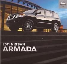 2011 11 Nissan Armada original sales brochure Mint