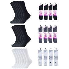 New Lycra Socks Ladies Cotton Regular Plain Rich Women shoes Socks UK Size 4-6