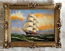VOILIER BATEAU reproduction ŒUVRES D'art de Contemporains Peintres 70x90