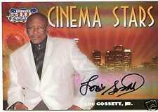 2007 AMERICANA CINEMA STARS AUTO LOU GOSSETT JR. 33/50