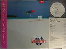 PROMO WHITE LABEL MILTON BANANA TRIO JAPAN OBI LINHA DE