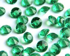 Dark Green Wedding/Party Table Gems/Confetti/Decorations Crystal 4.5mm 1/3 Carat