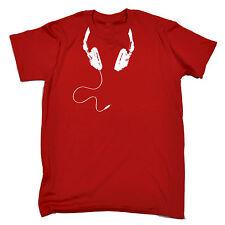 Cavo per cuffie intorno al collo T-SHIRT DJ Disc Jockey DEEJAY MC Rave padri Giorno