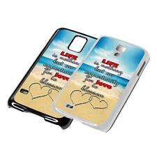 Love Citazione Telefono Cover Per iPhone iPod iPad SAMSUNG 4 5 6 7 5th 6th Generazione Case