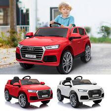 Coche Eléctrico para Niño 3-8 Años Audi Q5 Batería 12V Control Remoto Carga 30kg
